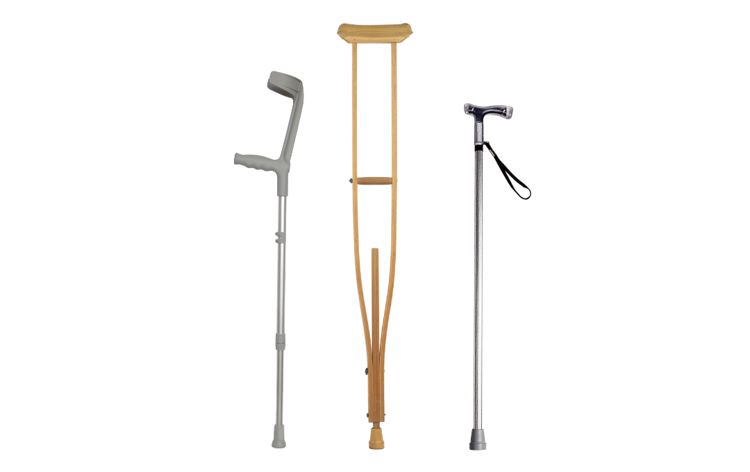 Reliable Cane/Crutches/Mobility Equipment Delivered to Your Home in MD, PA, DE, NJ & NY